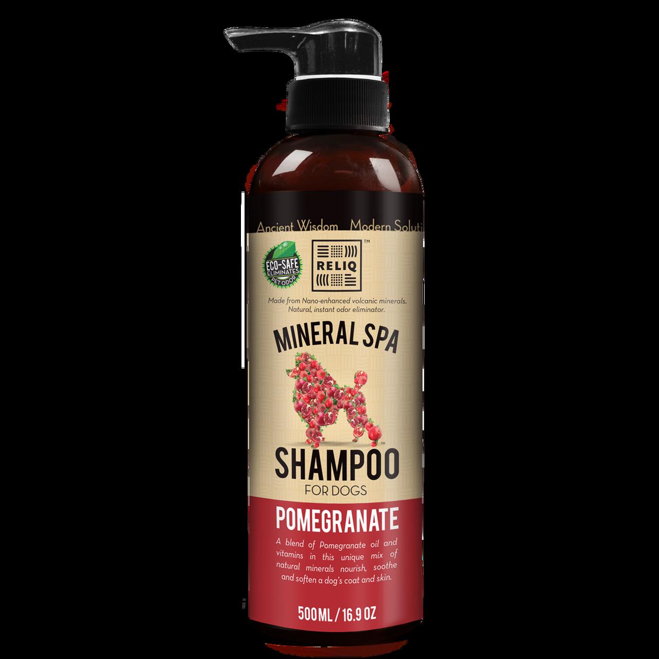 Reliq Pomegranate Dog Shampoo, 16.9-oz