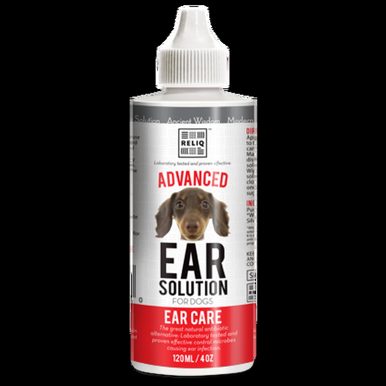 Reliq Ear Solution for Dogs, 4-oz