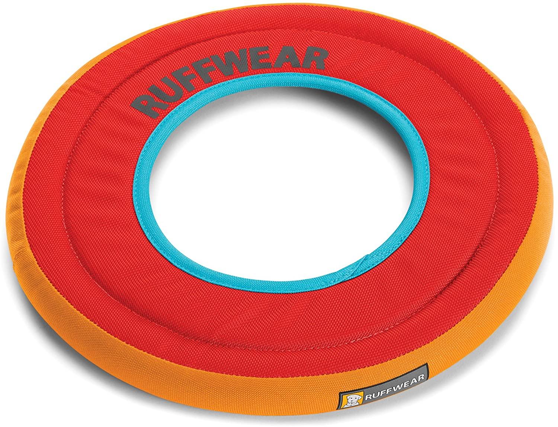 Ruffwear Hydro Plane Floating Throw Dog Toy, Sockeye Red