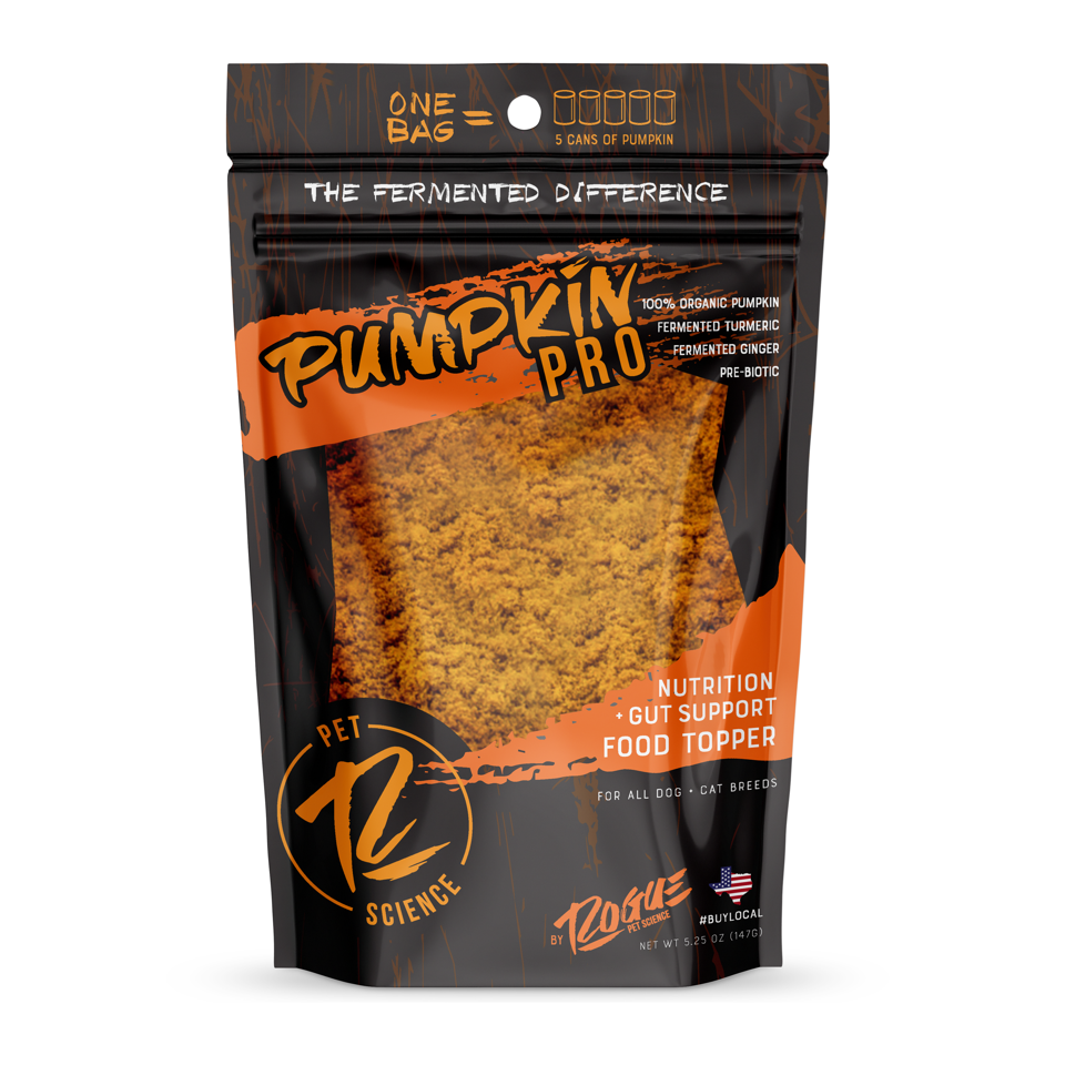Rogue Pet Science Pumpkin Pro Dog Food Topper, 5.25-oz