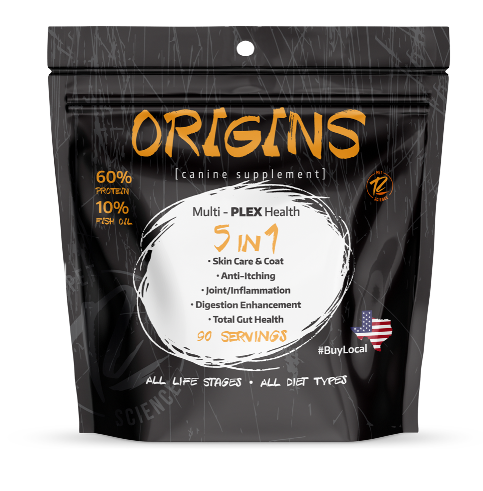 Rogue Pet Science Origins Canine 5 in 1 Dog Supplement, 5-lb