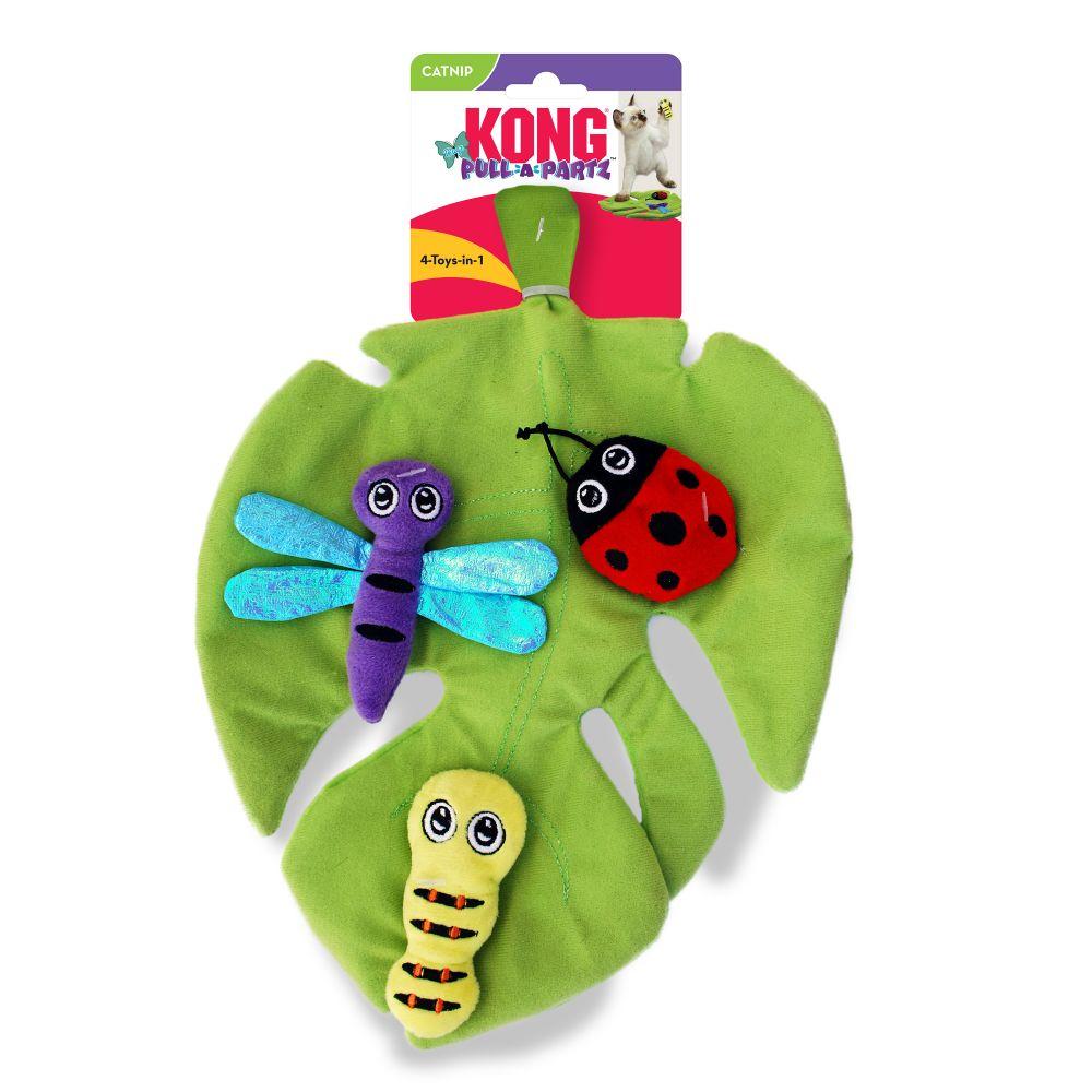 KONG Pull-A-Partz Bugz Cat Toy