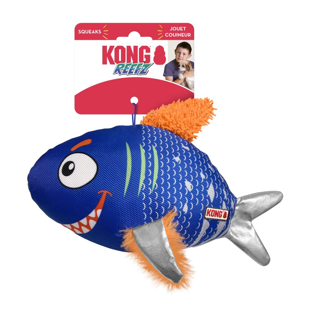KONG Reefz Dog Toy, Assorted Colors, Small