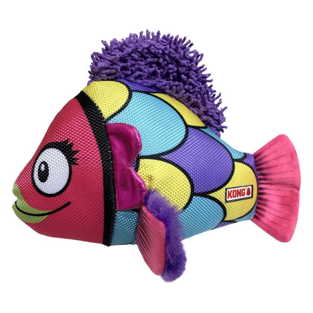 KONG Reefz Dog Toy, Assorted Colors, Large