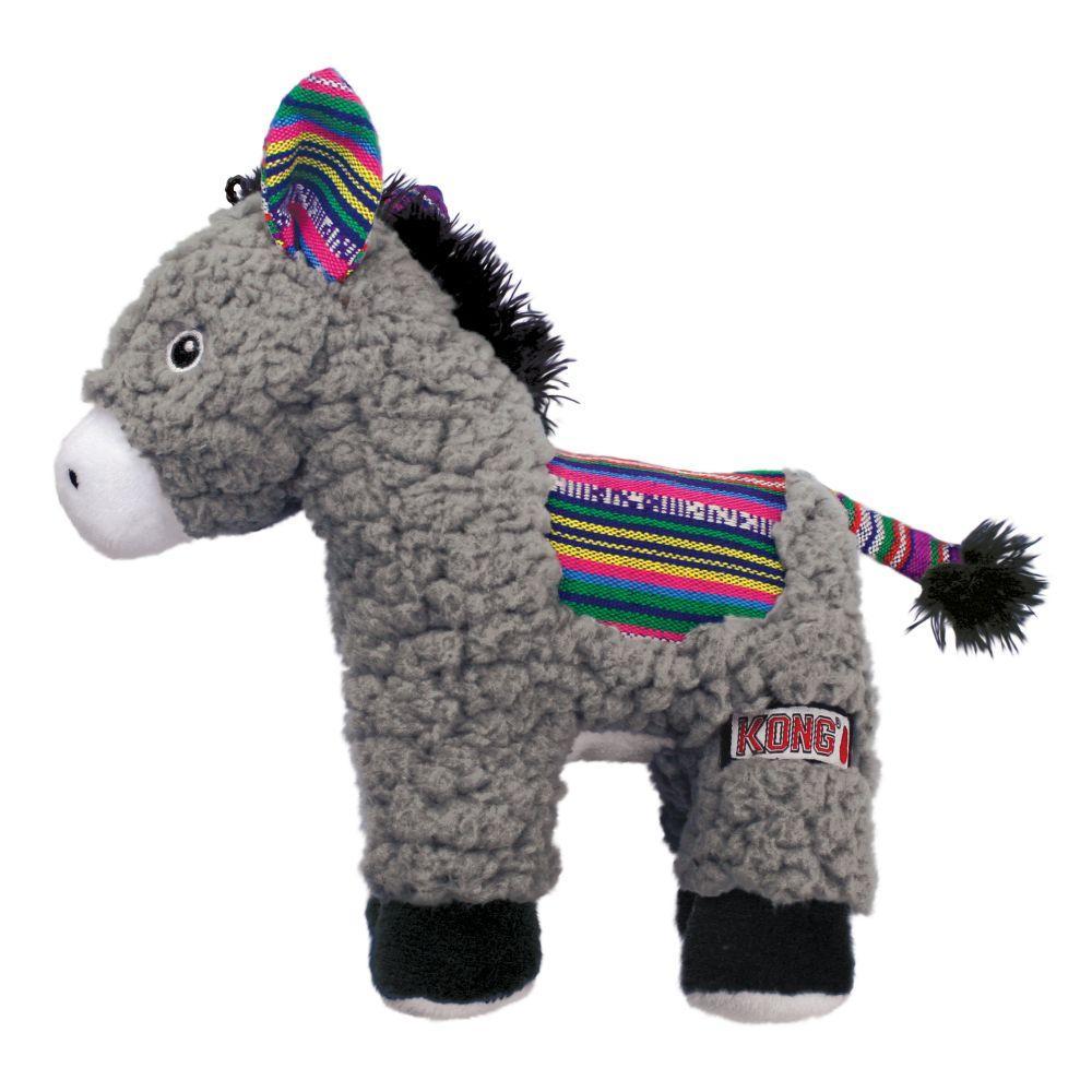 KONG Sherps Donkey Dog Toy, Medium