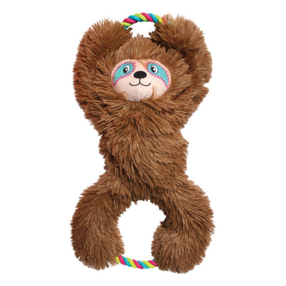 KONG Tuggz Sloth Dog Toy, X-Large