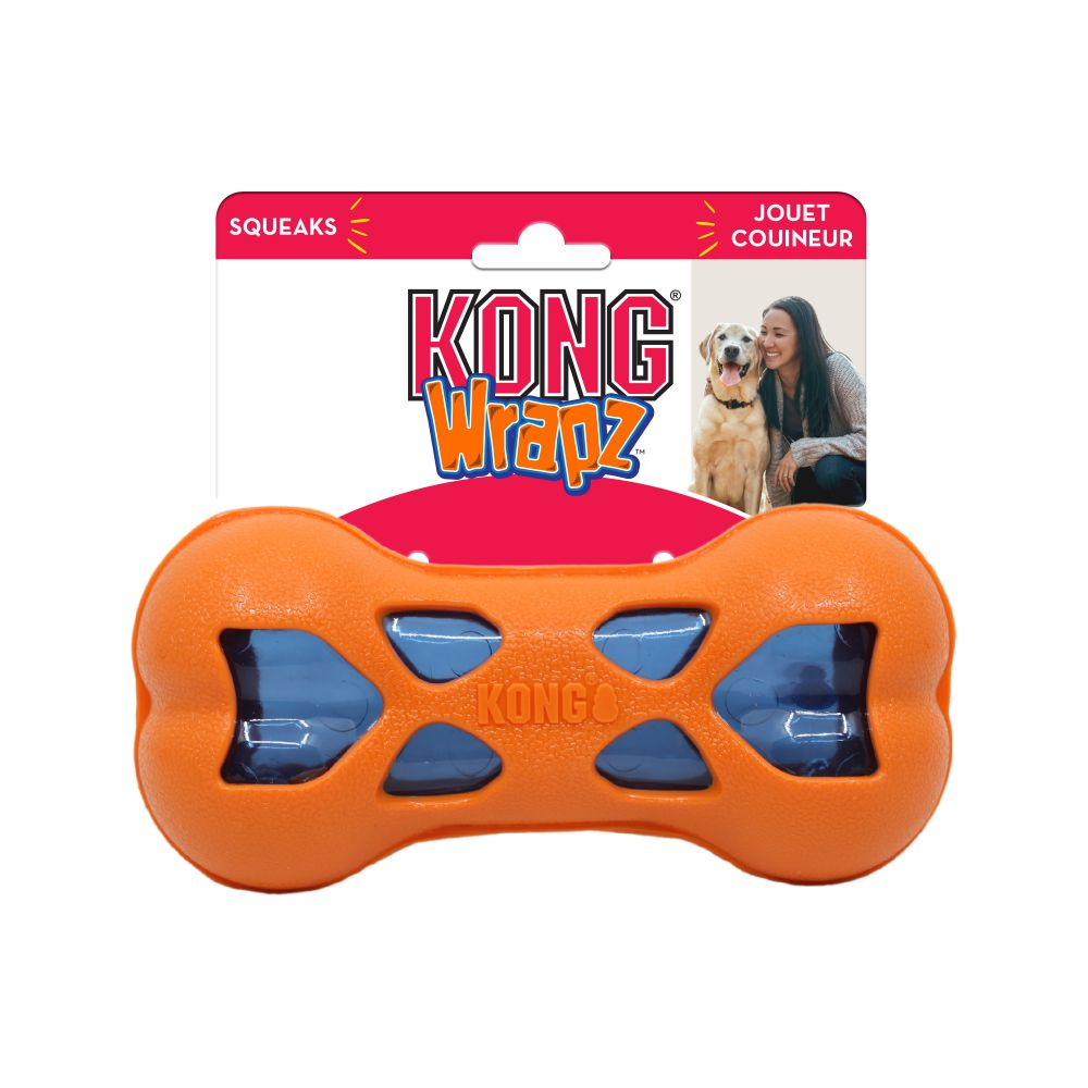 KONG Wrapz Bone Dog Toy Image