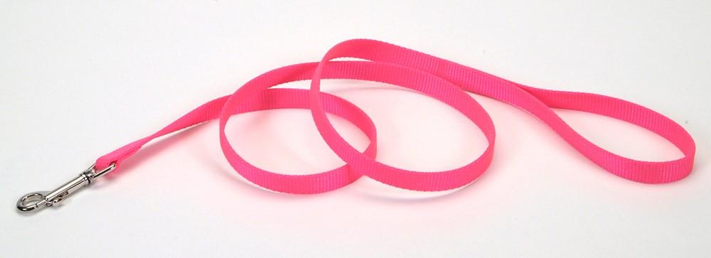 Coastal Single Nylon Lead, Neon Pink Image