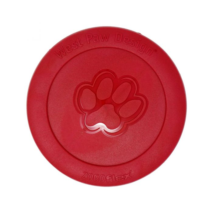 West Paw Zogoflex Zisc Flying Disc Dog Toy, Small