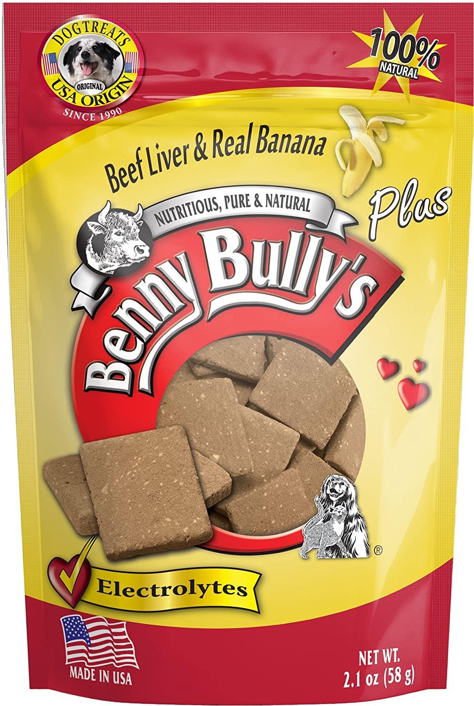Benny Bully's Liver Plus Beef Liver & Real Banana Freeze-Dried Dog Treats, 2.1-oz