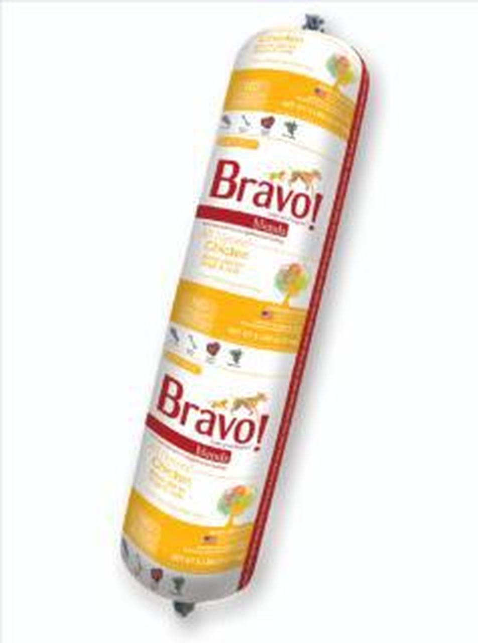 Bravo Blends Chicken Chub Roll Raw Frozen Dog Food, 2-lb