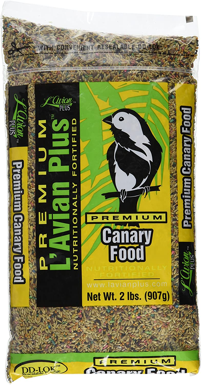 L`Avian Plus Canary Bird Food, 25-lb