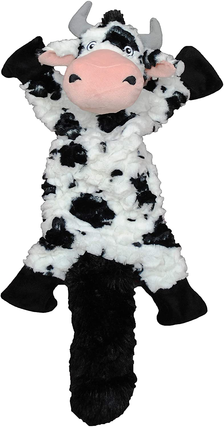 Jolly Pets Fat Tail Cow Dog Toy, Large