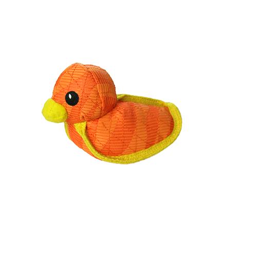 DuraForce Duck Dog Toy, Orange
