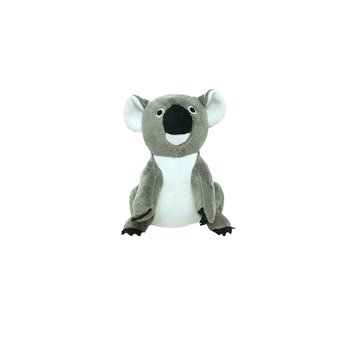 Tuffy's Mighty Jr. Plush Dog Toy, Koala