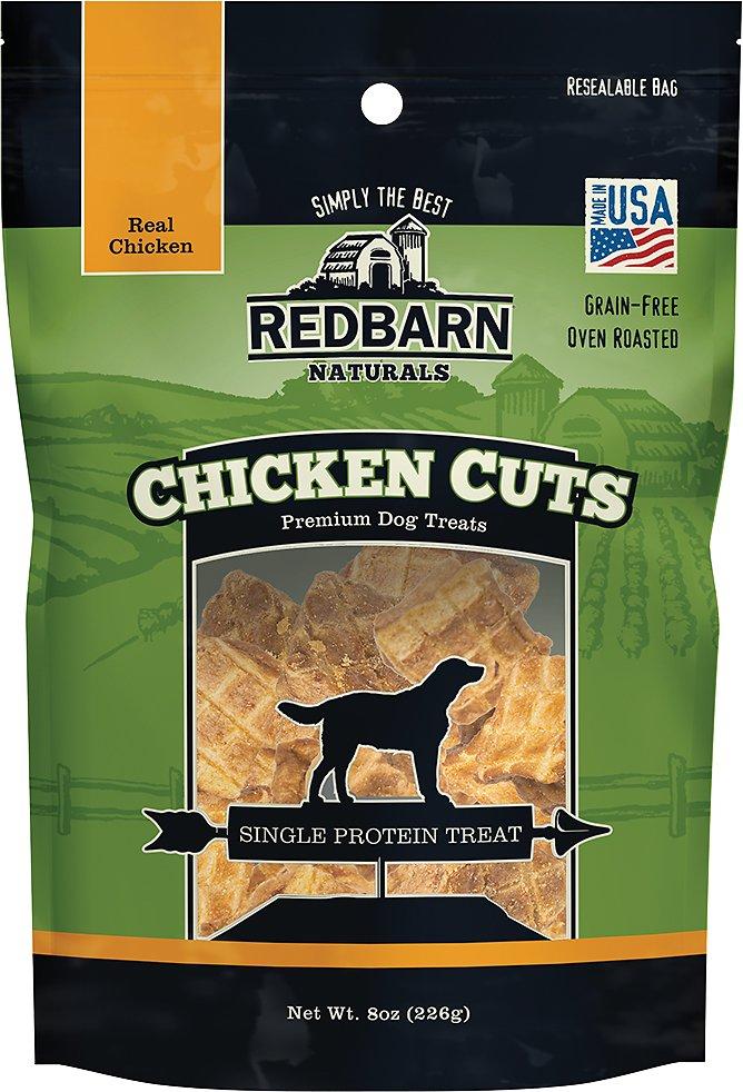 REDBARN PET PRODUCTS Chicken Cuts Freeze-Dried Dog Treats, 8-oz bag