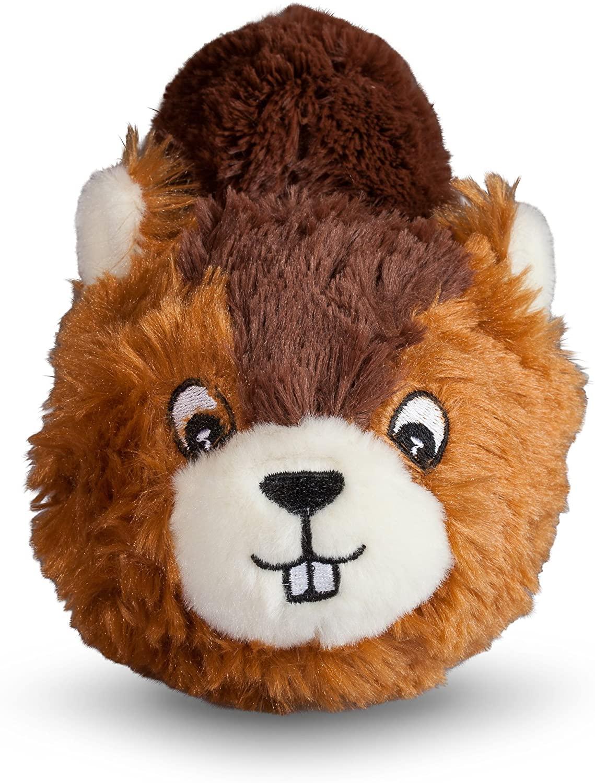 fabdog Faball Dog Toy, Beaver, Small