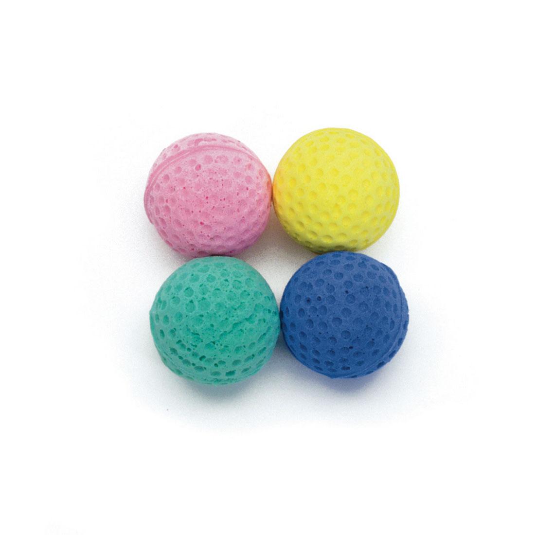 Turbo Assorted Sponge Balls Cat Toys