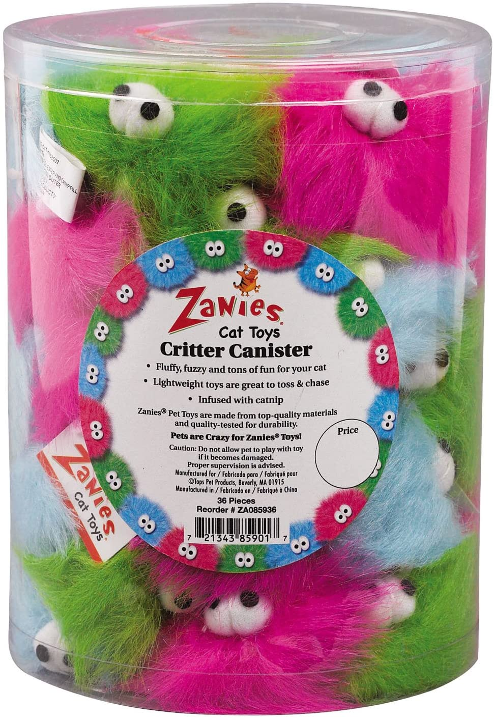 Zanies Critters Cat Toy Image
