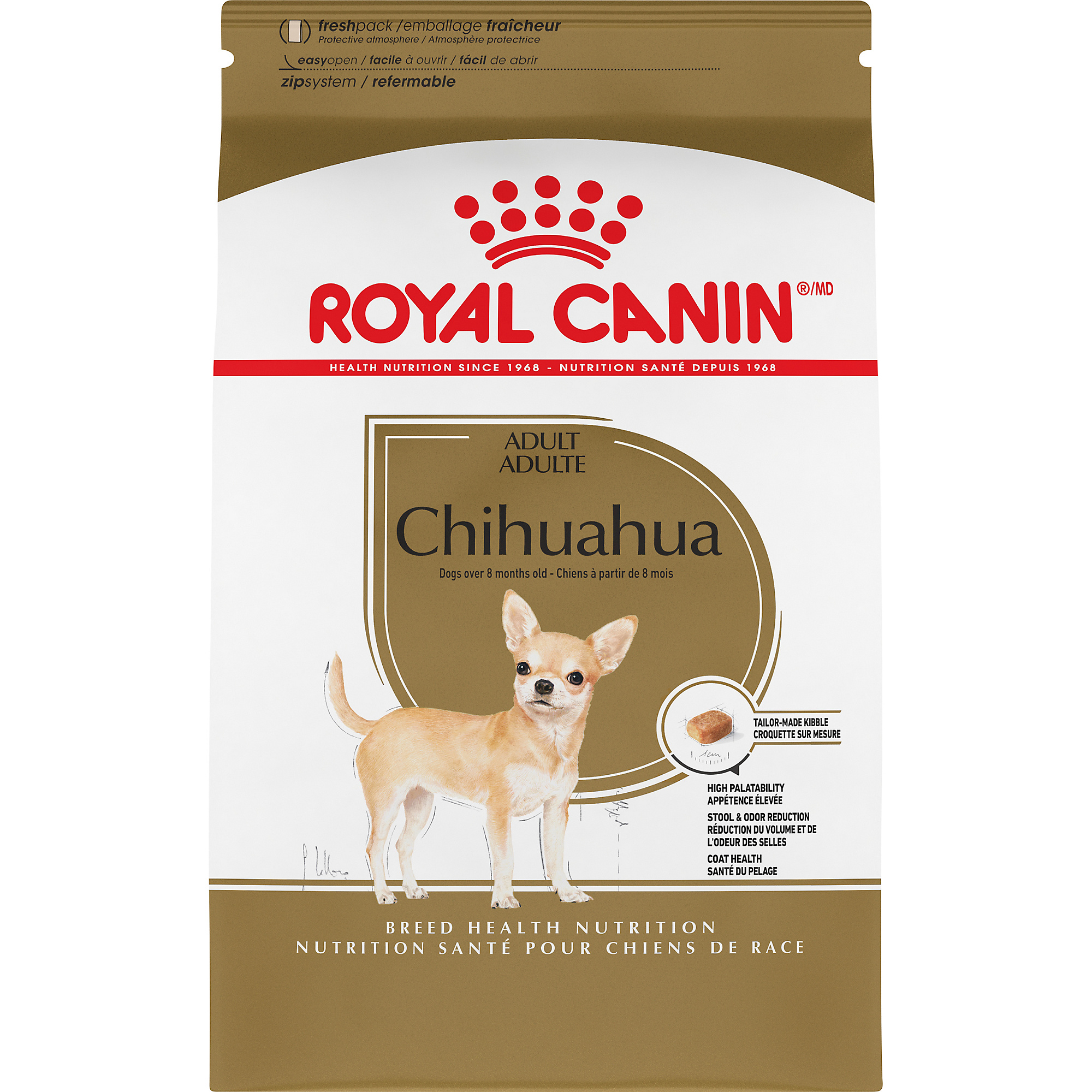 Royal Canin Breed Health Nutrition Chihuahua Adult Dry Dog Food Image