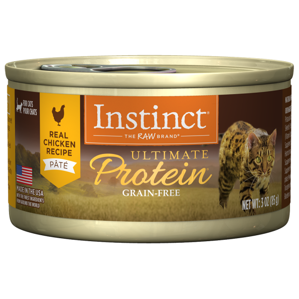 Instinct by Nature's Variety Ultimate Protein Cage-Free Chicken Recipe Wet Canned Cat Food, 3-oz