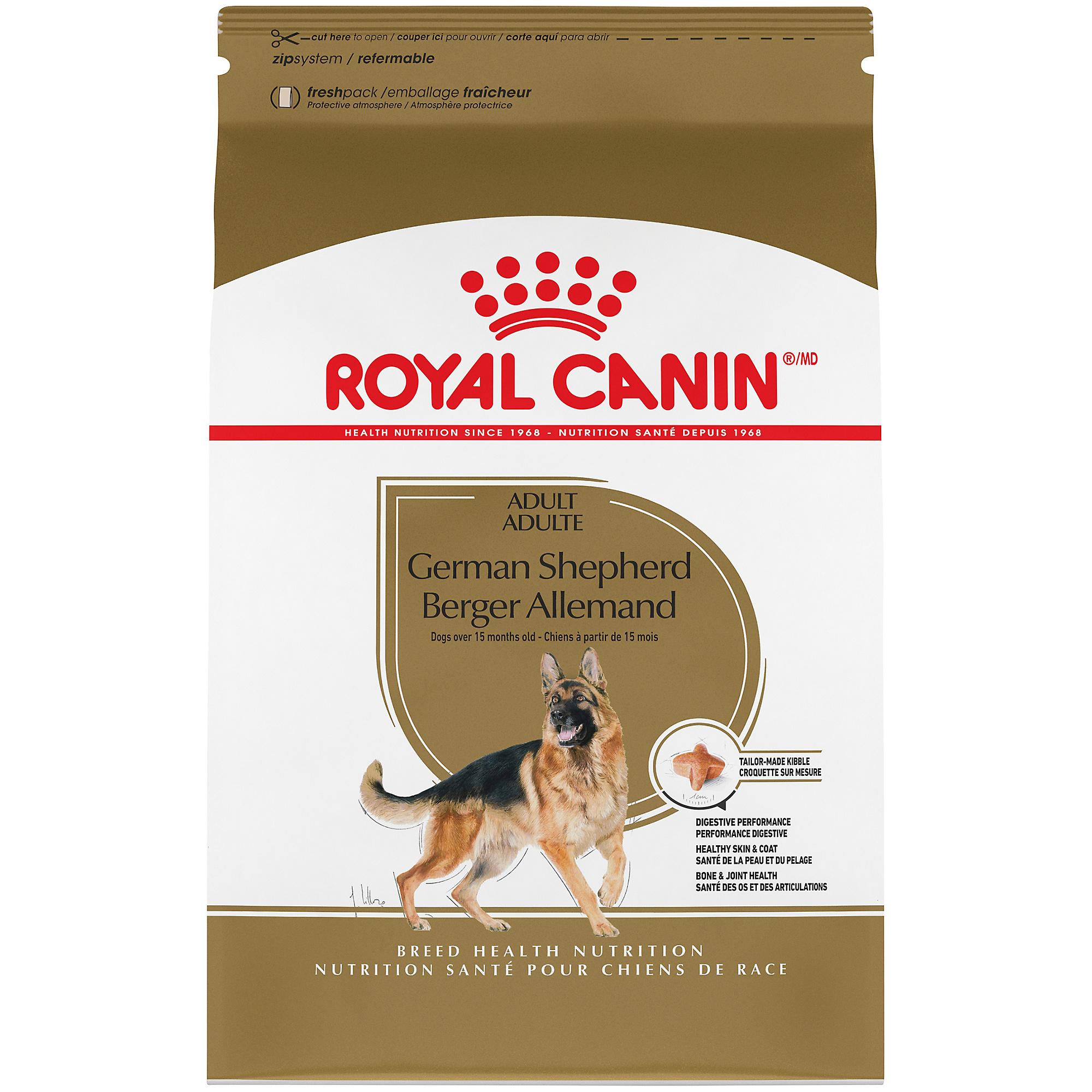 Royal Canin Breed Health Nutrition German Shepherd Adult Dry Dog Food Image