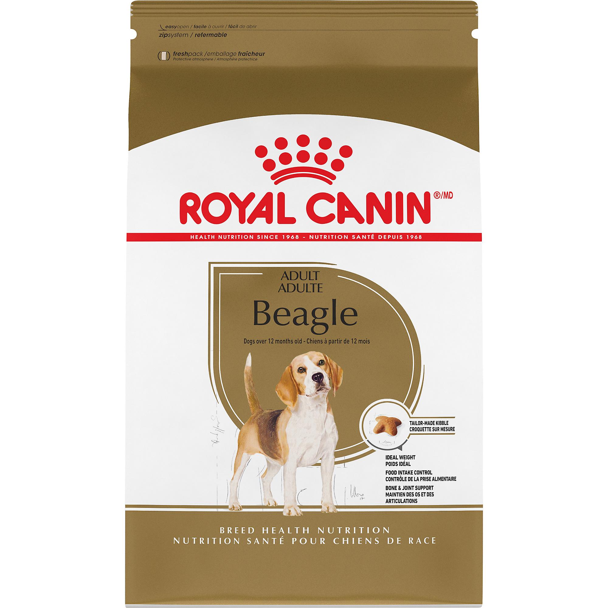 Royal Canin Breed Health Nutrition Beagle Adult Dry Dog Food Image