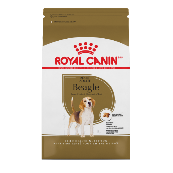 Royal Canin BHN Beagle Adult Dry Dog Food, 30-lb