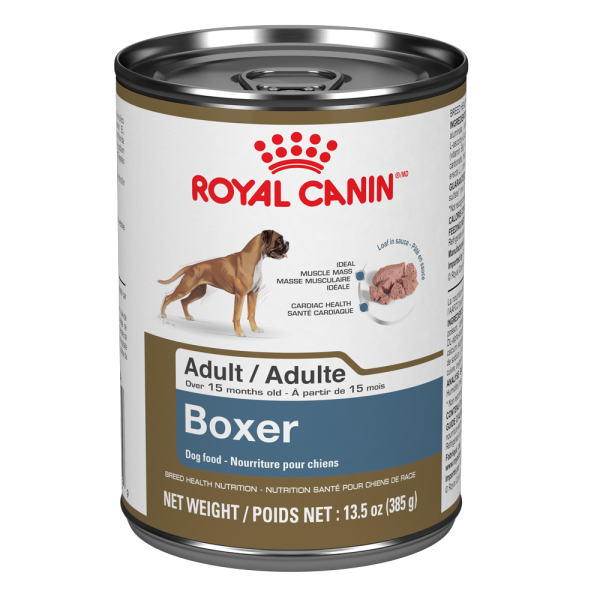 Royal Canin BHN Boxer Adult Loaf in Gravy Canned Wet Dog Food, 385-gm
