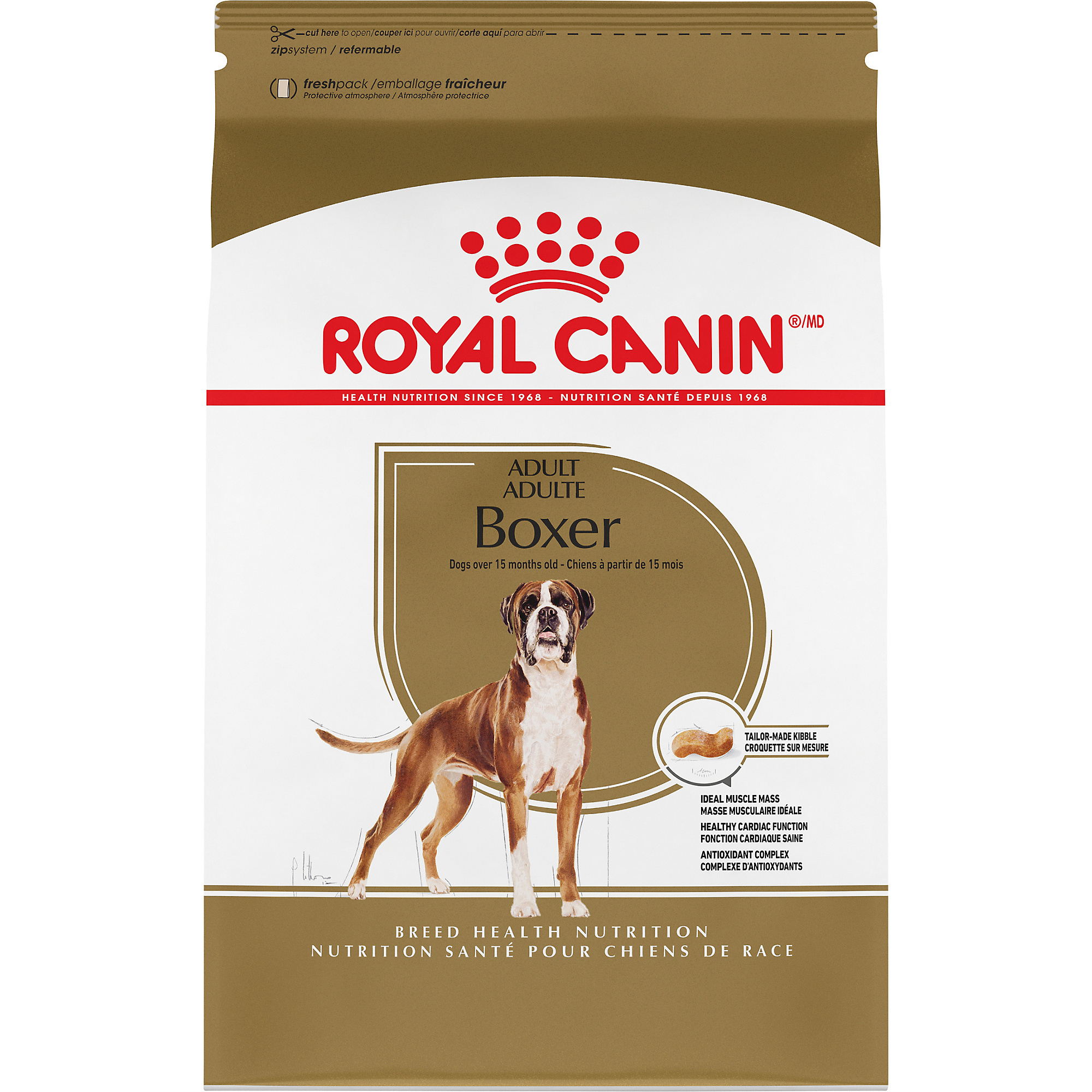 Royal Canin Breed Health Nutrition Boxer Adult Dry Dog Food Image