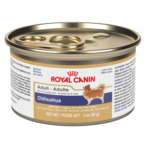 Royal Canin BHN Chihuahua Adult Loaf in Gravy Canned Wet Dog Food, 85-gm