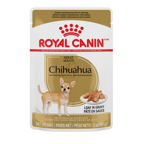 Royal Canin BHN Chihuahua Adult Loaf Pouch in Gravy Wet Dog Food, 85-gm