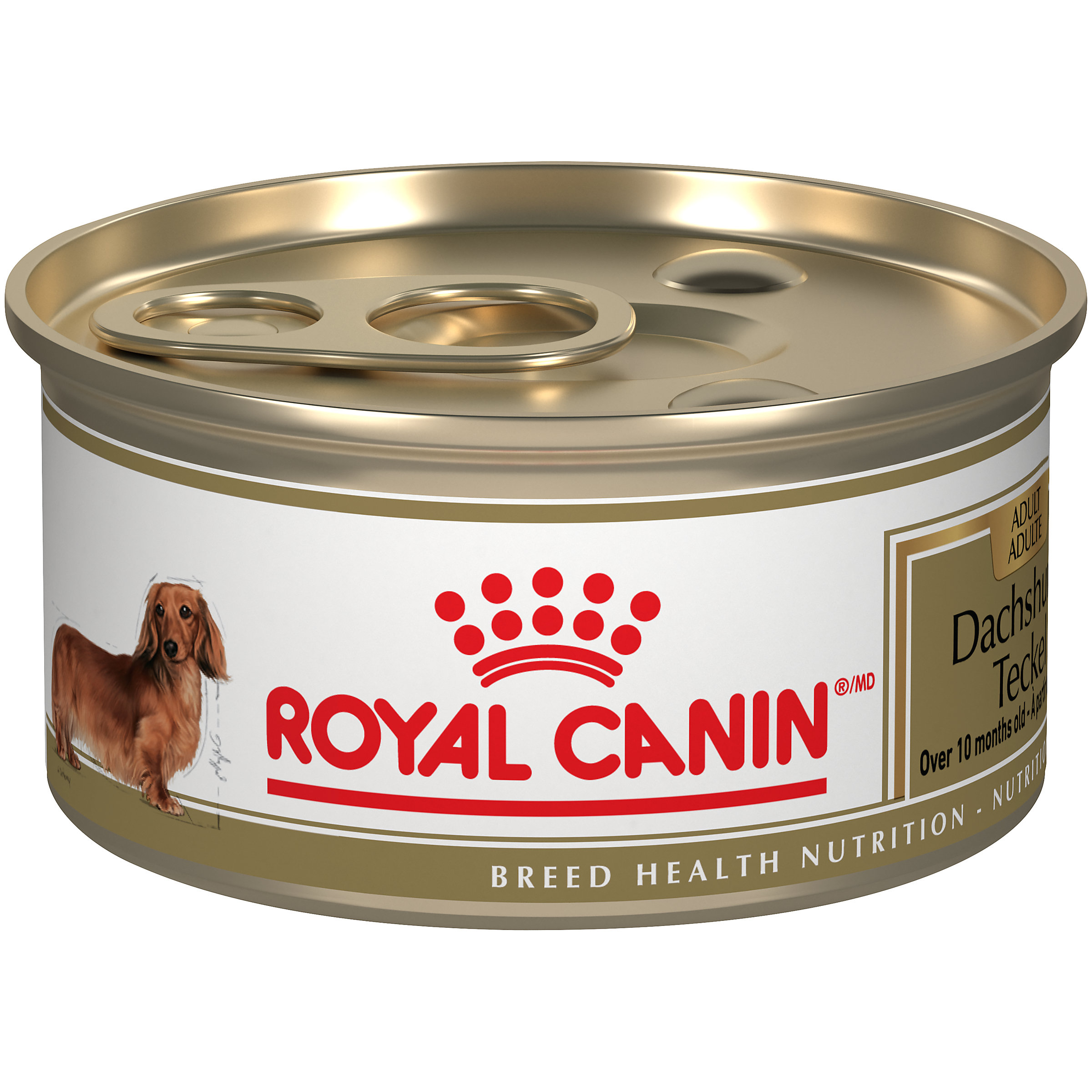Royal Canin Breed Health Nutrition Dachshund Adult Loaf in Gravy Canned Wet Dog Food, 85-gm
