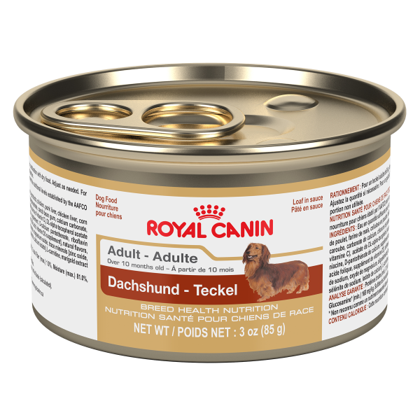 Royal Canin BHN Dachshund Adult Loaf in Gravy Canned Wet Dog Food, 85-gm