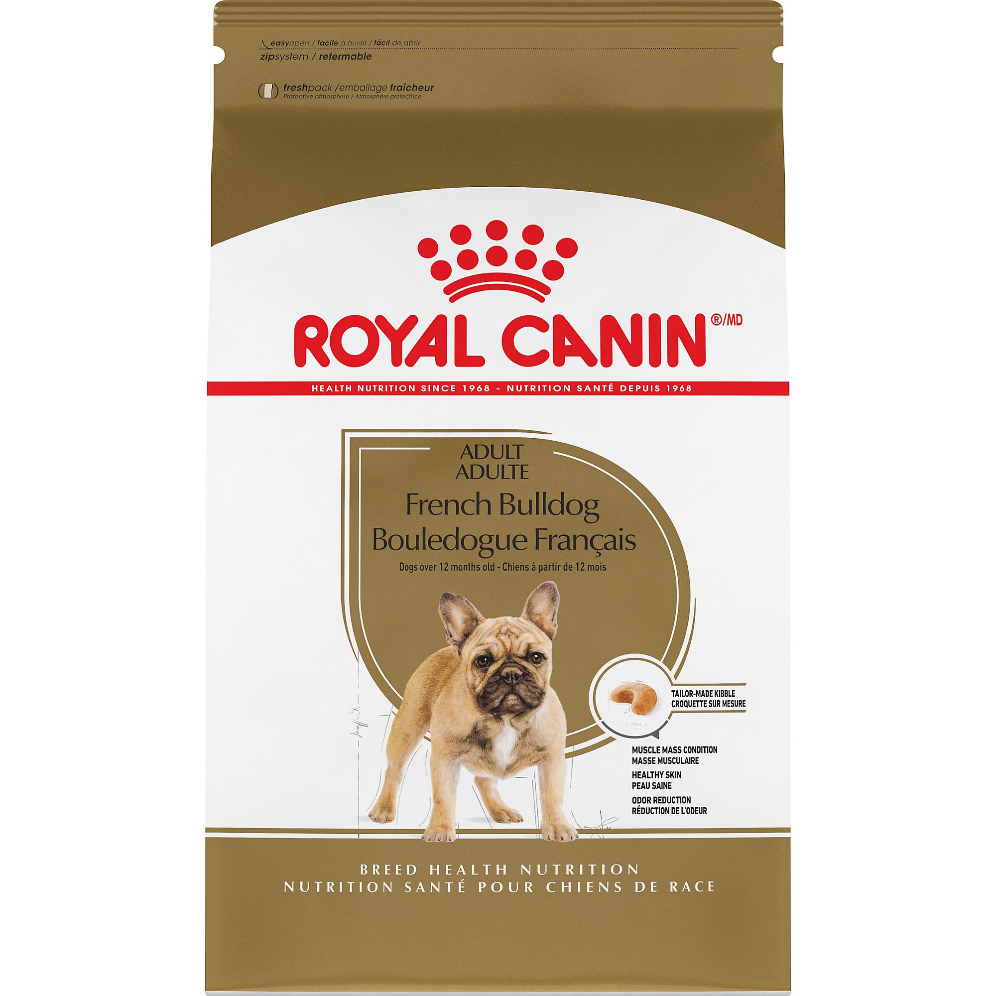 Royal Canin Breed Health Nutrition French Bulldog Adult Dry Dog Food Image
