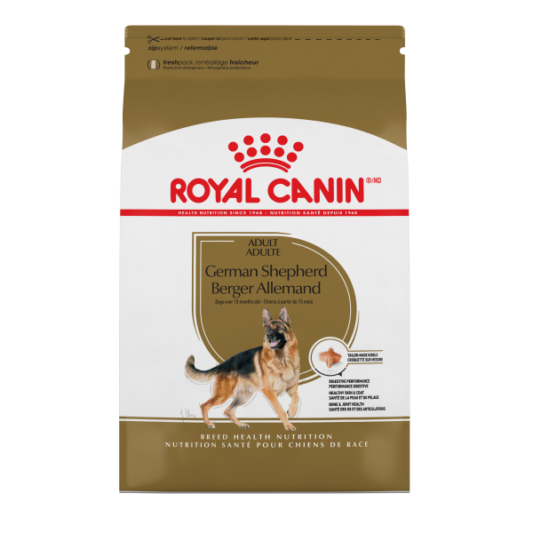 Royal Canin BHN German Shepherd Adult Dry Dog Food, 17-lb
