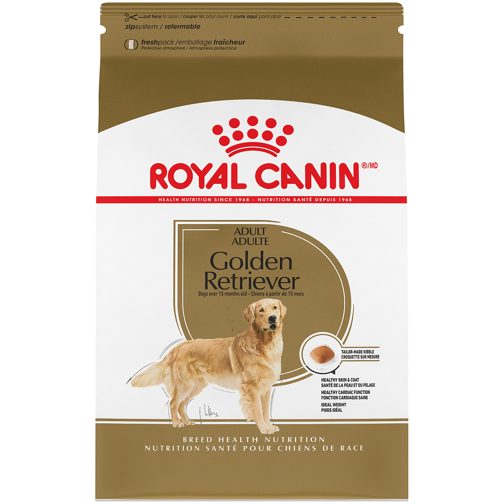 Royal Canin Breed Health Nutrition Golden Retriever Adult Dry Dog Food Image