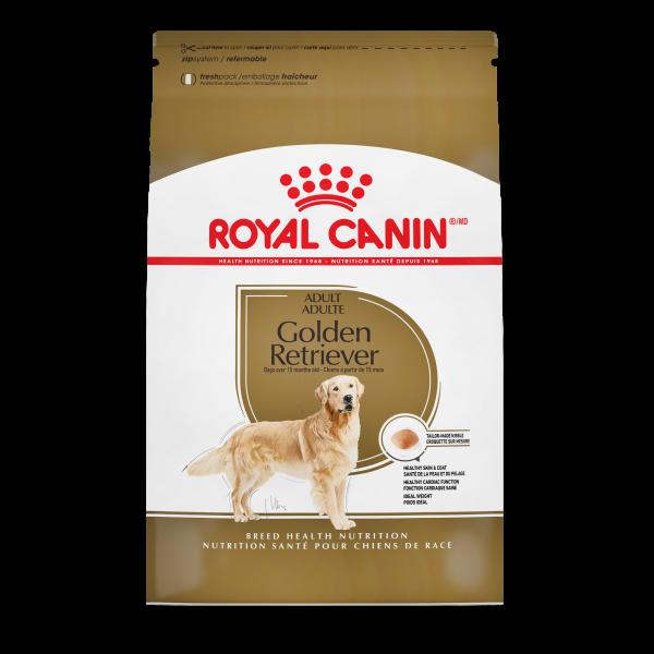 Royal Canin BHN Golden Retriever Adult Dry Dog Food, 17-lb