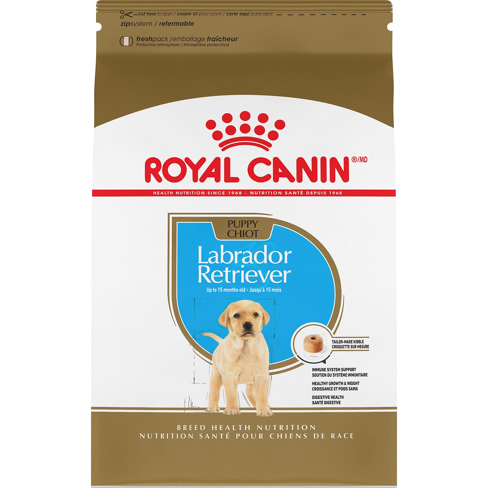 Royal Canin Breed Health Nutrition Labrador Retriever Puppy Dry Dog Food Image