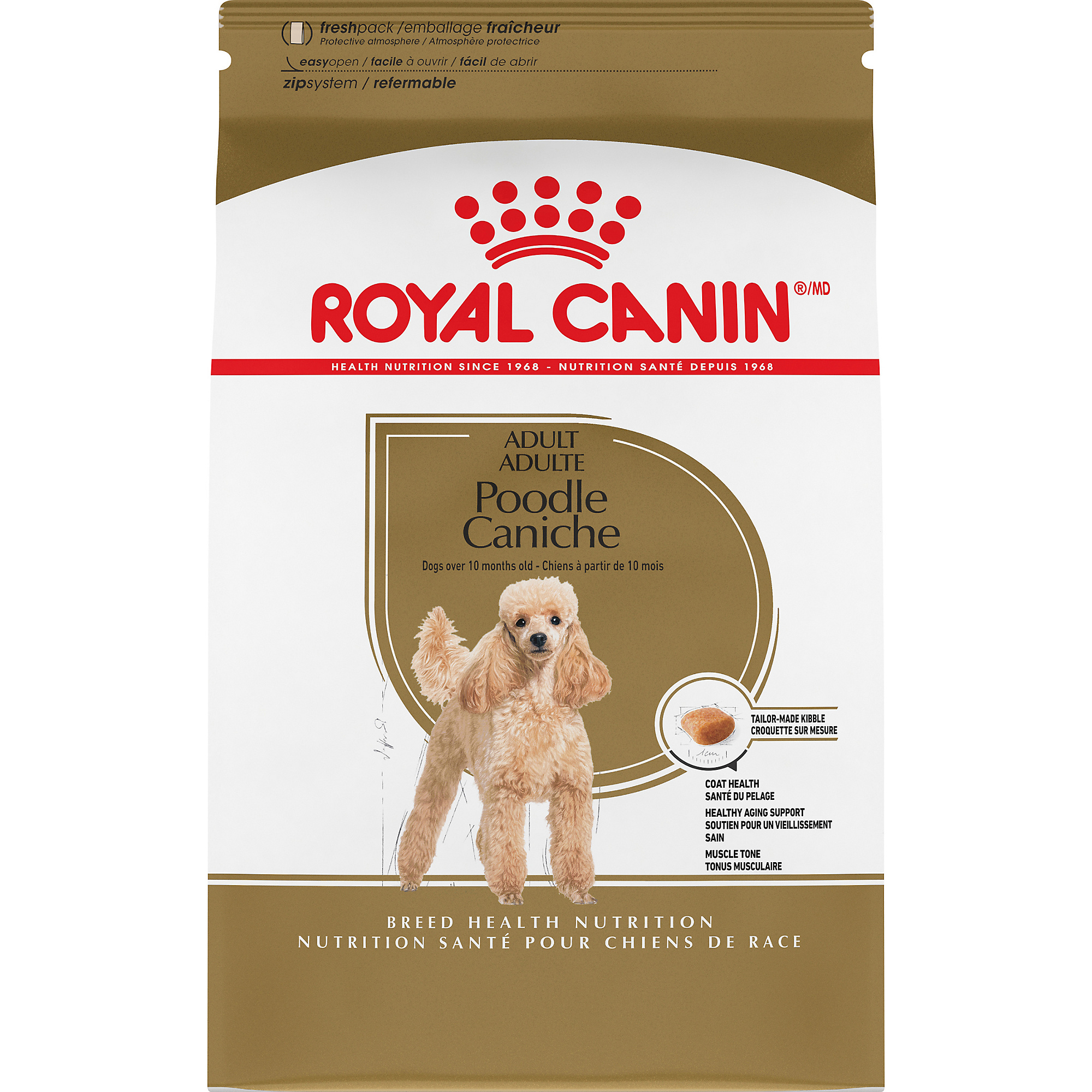 Royal Canin Breed Health Nutrition Poodle Adult Dry Dog Food Image
