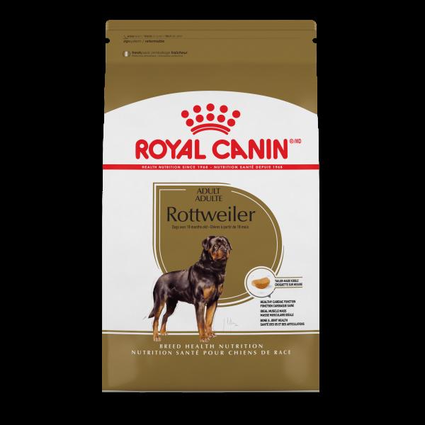 Royal Canin BHN Rottweiler Adult Dry Dog Food, 30-lb