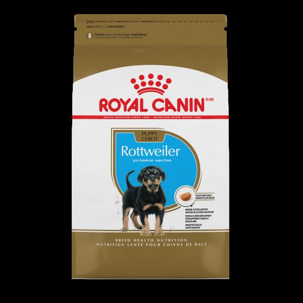 Royal Canin BHN Rottweiler Puppy Dry Dog Food, 30-lb