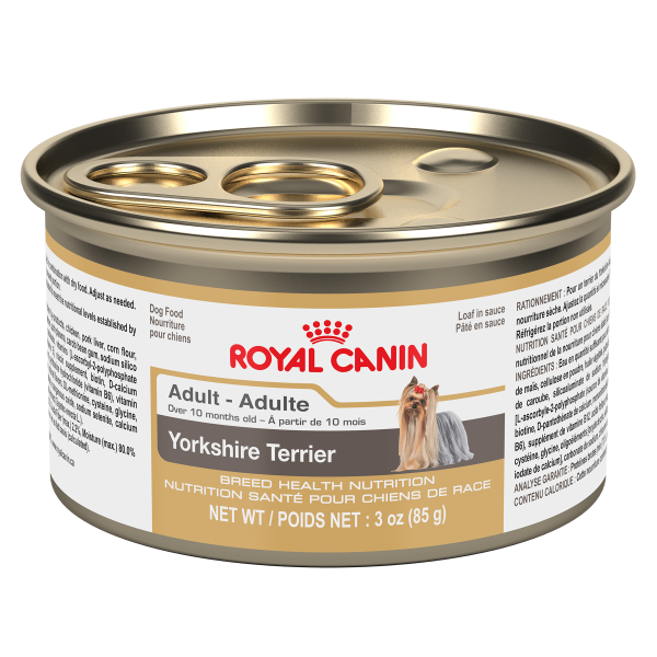 Royal Canin BHN Yorkshire Adult Loaf in Gravy Canned Wet Dog Food, 85-gm