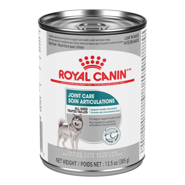 Royal Canin CCN Joint Care Adult Loaf in Gravy Canned Wet Dog Food, 385-gm