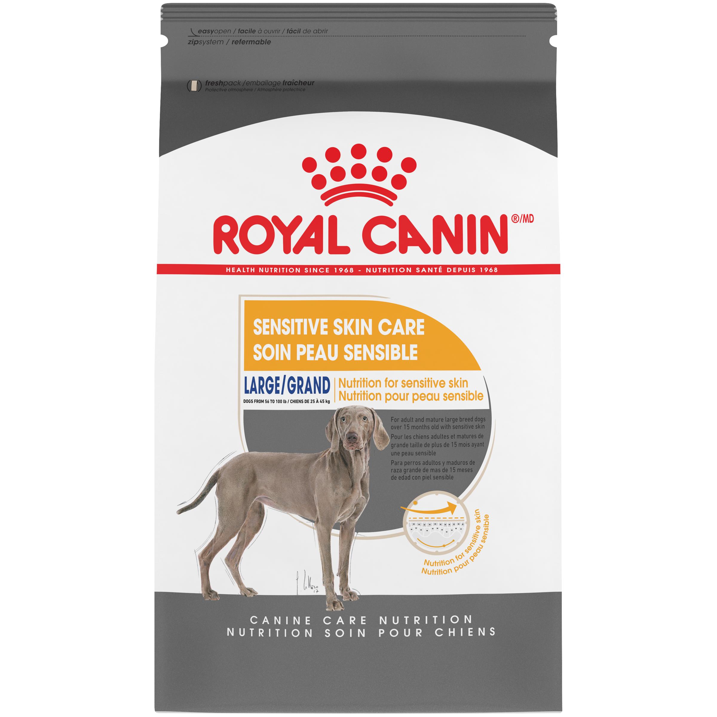Royal Canin Canine Care Nutrition Large Sensitive Skin Care Dry Dog Food Image