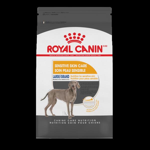 Royal Canin CCN Large Sensitive Skin Care Dry Dog Food, 30-lb