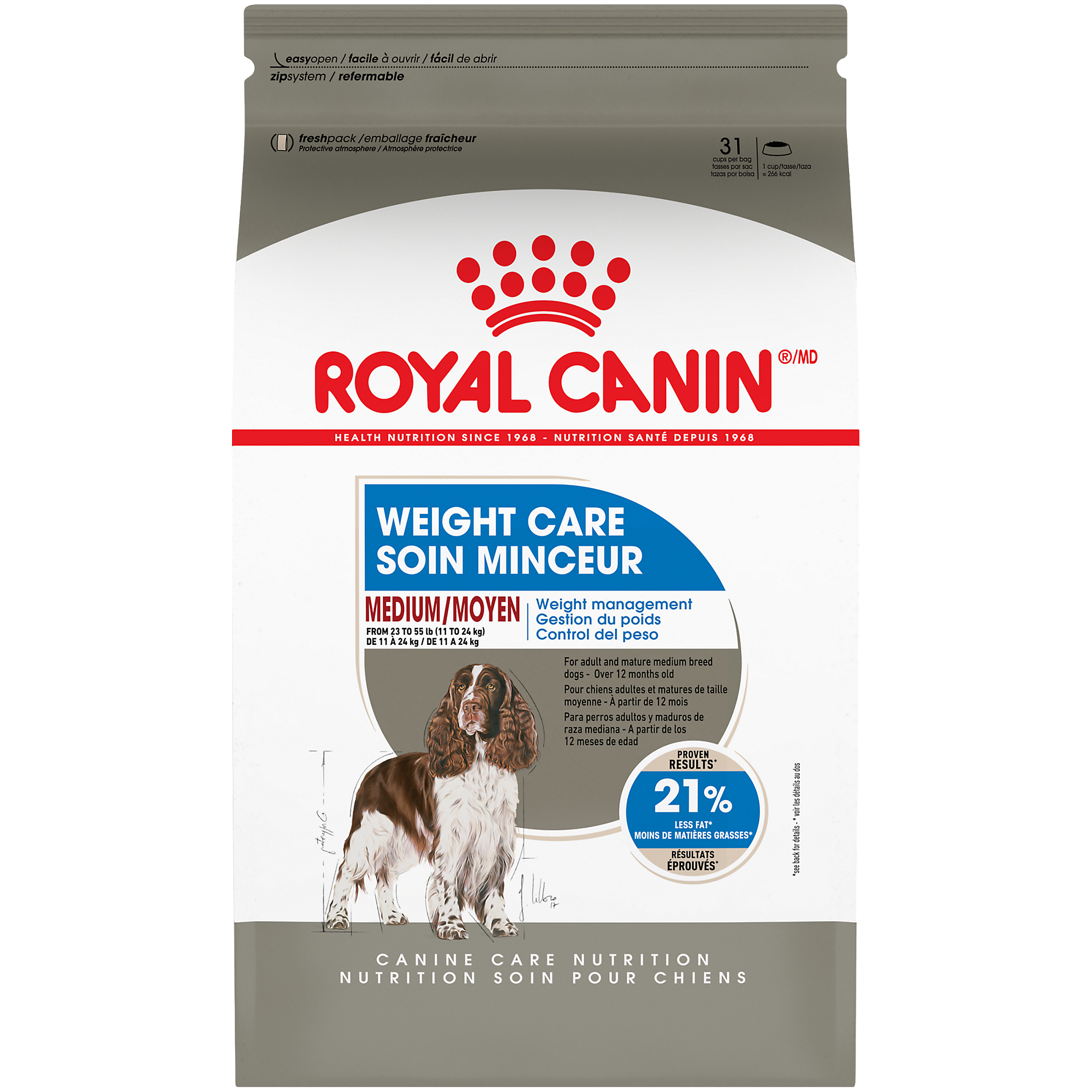 Royal Canin Canine Care Nutrition Medium Weight Care Dry Dog Food Image