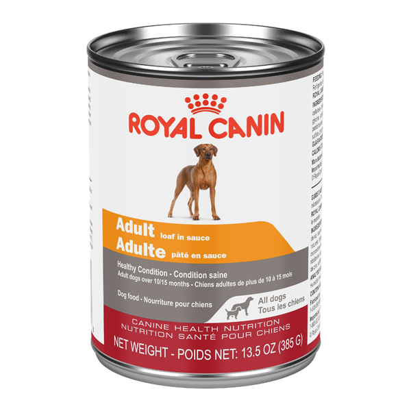 Royal Canin CHN All Adult Loaf in Gravy Canned Wet Dog Food Image