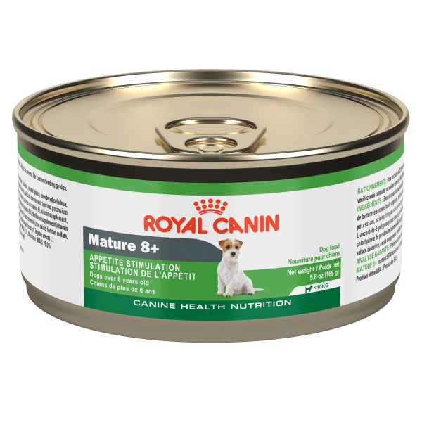 Royal Canin CHN Mature 8+ Loaf Canned Wet Dog Food, 165-gm