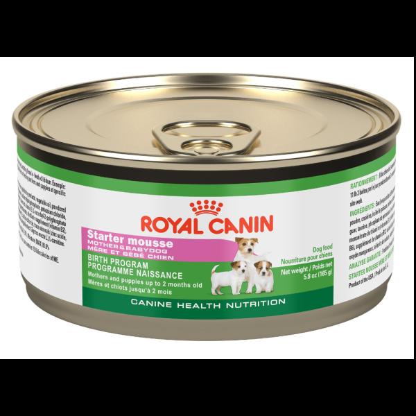 Royal Canin CHN Ultra Soft Starter Mousse Wet Dog Food Image
